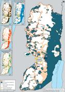 The West Bank archipelago (B'Tselem)   <b>Figure</b> 4. The West Bank archipelago ...
