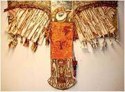Clara Morera,  El santo pájaro  ( The Sacred Bird ), 2010. <b>Mixed</b> media on c...