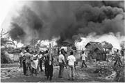 The Jamaican <b>government</b> destroying Shanty Town, off Foreshore Road (renamed...