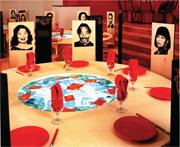 Tomie Arai,  Double Happiness , 2004. <b>Mixed</b>-media installation, Bronx Museu...