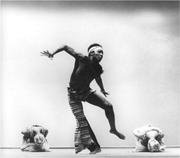 Rex Nettleford in performance in  Myal  (chor. Rex Nettleford), 1974. Maria...