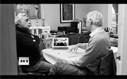 Julian Assange and Tariq Ali interview Noam <b>Chomsky</b>. Screenshot from  The W...