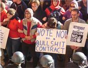 Today's student protestors at <b>Berkeley</b> have impressed Michael Nagler with t...