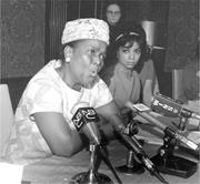 It was civil rights organizer Ella Baker's depth of caring, as well as her ...