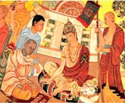 The systems created by Kautilya (above), the ruthless technocratic economis...