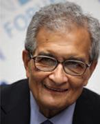 The Indian Nobel economist, Amartya Sen (below), is probably the best known...