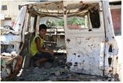 Close to 40 percent of children in many areas of the West Bank <b>struggle</b> wit...