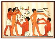 In ancient Egypt, circumcision was depicted as a rite of passage to adultho...