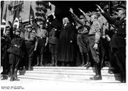 Lutherans and others within the anti-Semitic Deutsche Christen movement wor...