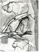 This cave painting is one of the many illustrations interleaved with <b>David</b> ...