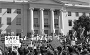 Creative Commons/Ben Chaney   Thousands of faculty and students staged a wa...