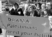 Activists in Washington, D.C., urge Obama to push for a ceasefire amid Isra...