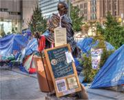 The Occupy <b>movement</b> could follow in Gandhi's footsteps by focusing on basic...