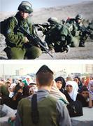 Top: Creative Commons/Israel Defense Forces  Bottom: Oren Ziv ( activestill...