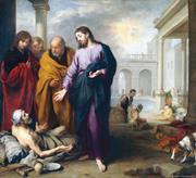 Creative Commons/Bartolomé Esteban Murillo  Jesus heals a paralyzed man at ...