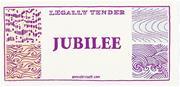 Annie Bissett ( anniebissett.com )  The jubilee note below is part of  Cash...