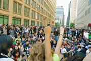 No Name Collective  <b>Activists</b> march to the U.S. Immigration and Customs Enf...