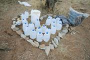 No More Deaths/Kate Morgan-Olsen  Migrants crossing the Southern Arizona de...