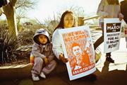 Diane Ovalle ( dianeovalle.com )  <b>Protesters</b> in Phoenix, Arizona, <b>protest</b> S...
