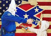 "Michael D'Antuono ( artandresponse.com )  ""White supremacy is the handmaide..."