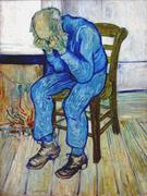 """Creative Commons/Vincent van Gogh  People who lose jobs at midlife """"stay un..."""
