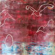 """Wendy Elisheva Somerson  """"<b>Three</b> pelicans stretch their wings over our heads..."""