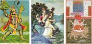 Creative Commons/Raja Ravi Varma and British Library Hindu Manuscripts  Han...