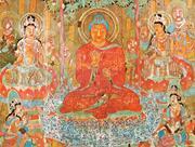 Creative Commons&#x2F;British Museum&#x2F; ancientartpodcast.org   Amitabha <b>Buddha</b> si...