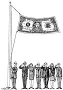 Newsart&#x2F;Jim Meehan  With so <b>many</b> politicians pledging allegiance to corpora...