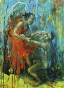 Jacob Wrestling with the <b>Angel</b>  by Michal Kwarciak.   Jacob Wrestling with ...