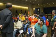 Creative Commons&#x2F;U.S. Department of Labor  Disability rights <b>activists</b> from...