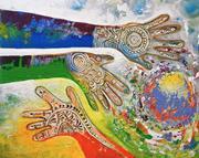 Sharon Gilbertson ( artwithvision.com )  Heeding the <b>Torah's</b> call for a Sab...
