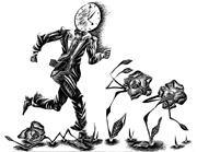 """Corporate ideas of efficiency pressure <b>activists</b> to adopt """"extractive appro..."""