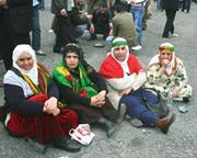 Flickr&#x2F;Isa Fakir  <b>Women</b> in traditional Kurdish holiday dress at Newroz, the...