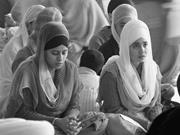 Flickr&#x2F;Jasleen Kaur  Sikh <b>women</b> gather in a gurdwara.   Flickr&#x2F;Jasleen Kaur...