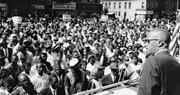 Malcolm X addresses a rally in Harlem, <b>New</b> York in 1963.  File   AP Photo  ...
