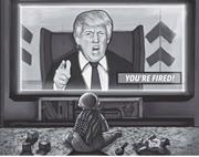 US <b>president</b> Donald Trump creating an Orwelian dystopia and a poor example ...