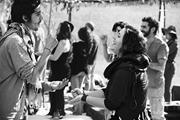 <b>Jews</b> gathering at a festival to find presence and community.   <b>Jews</b> gatheri...