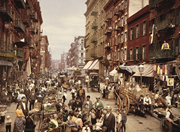 Mulberry St in <b>New</b> York's Little Italy c. 1900   Mulberry St in <b>New</b> York's ...