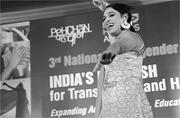 Performance by Abhina Aher of the Dancing Queens at the Third National  Hij...