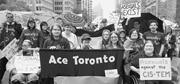 Photograph from Toronto Pride, 2015. The <b>article</b> title is taken directly fr...